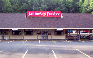 Janine's Frostee - New Building
