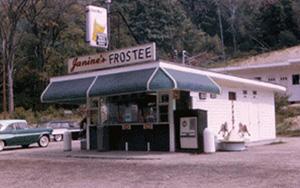 Janine's Frostee - Original Building