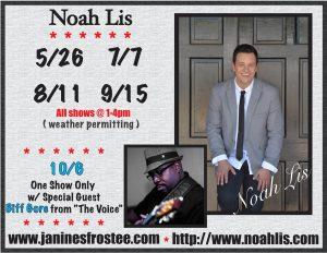 Noah Lis @ Janine's Frostee | Ware | Massachusetts | United States