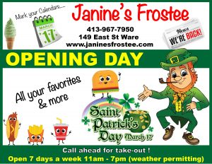2019 Opening Day @ Janine's Frostee