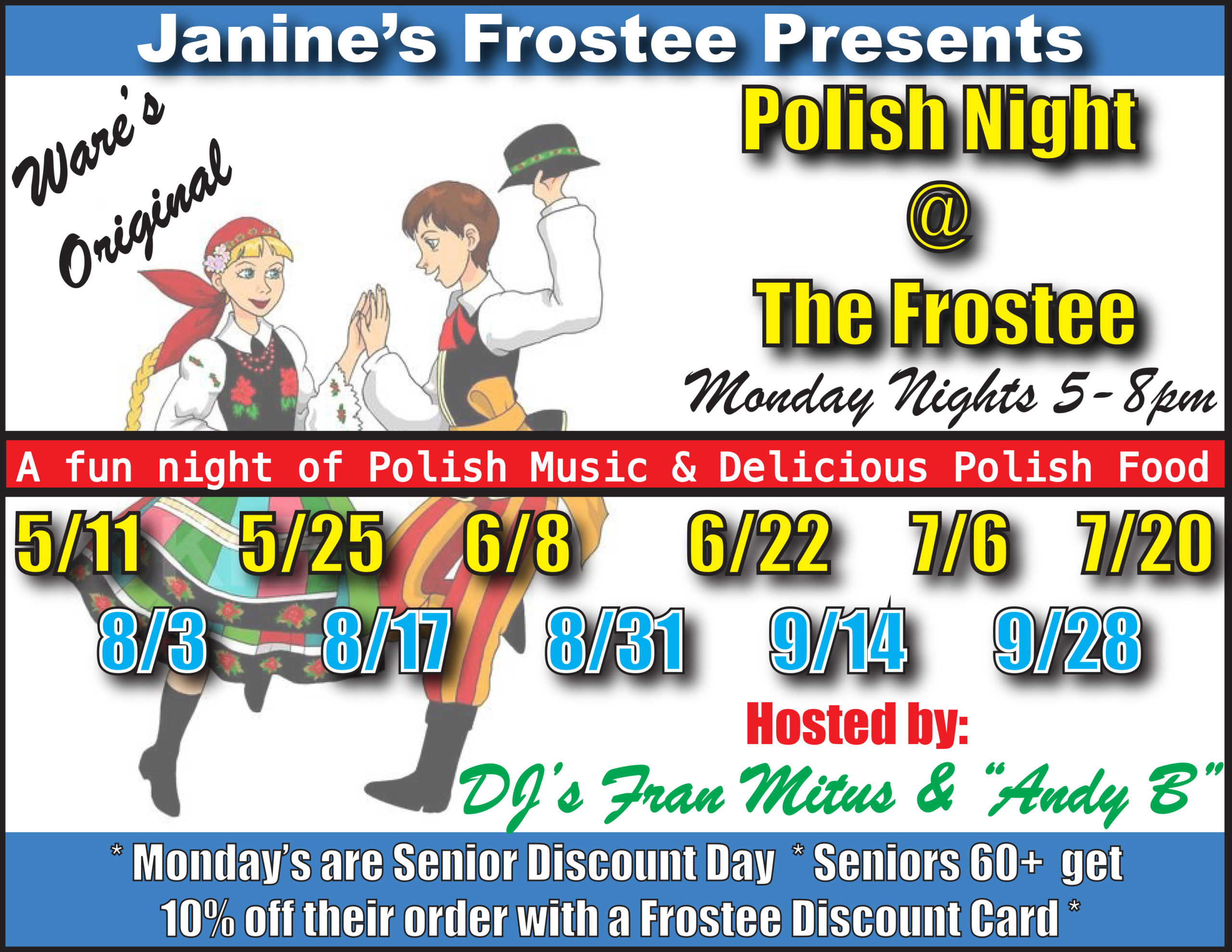 Polish Night @ Janine's Frostee