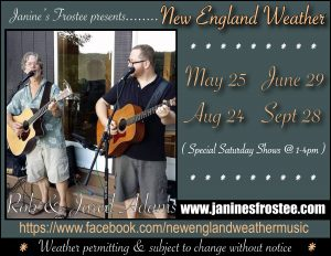 New England Weather @ Janine's Frostee | Ware | Massachusetts | United States