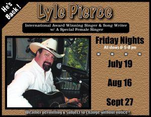 Lyle Pierce w/ Special Guest Singer @ Janine's Frostee