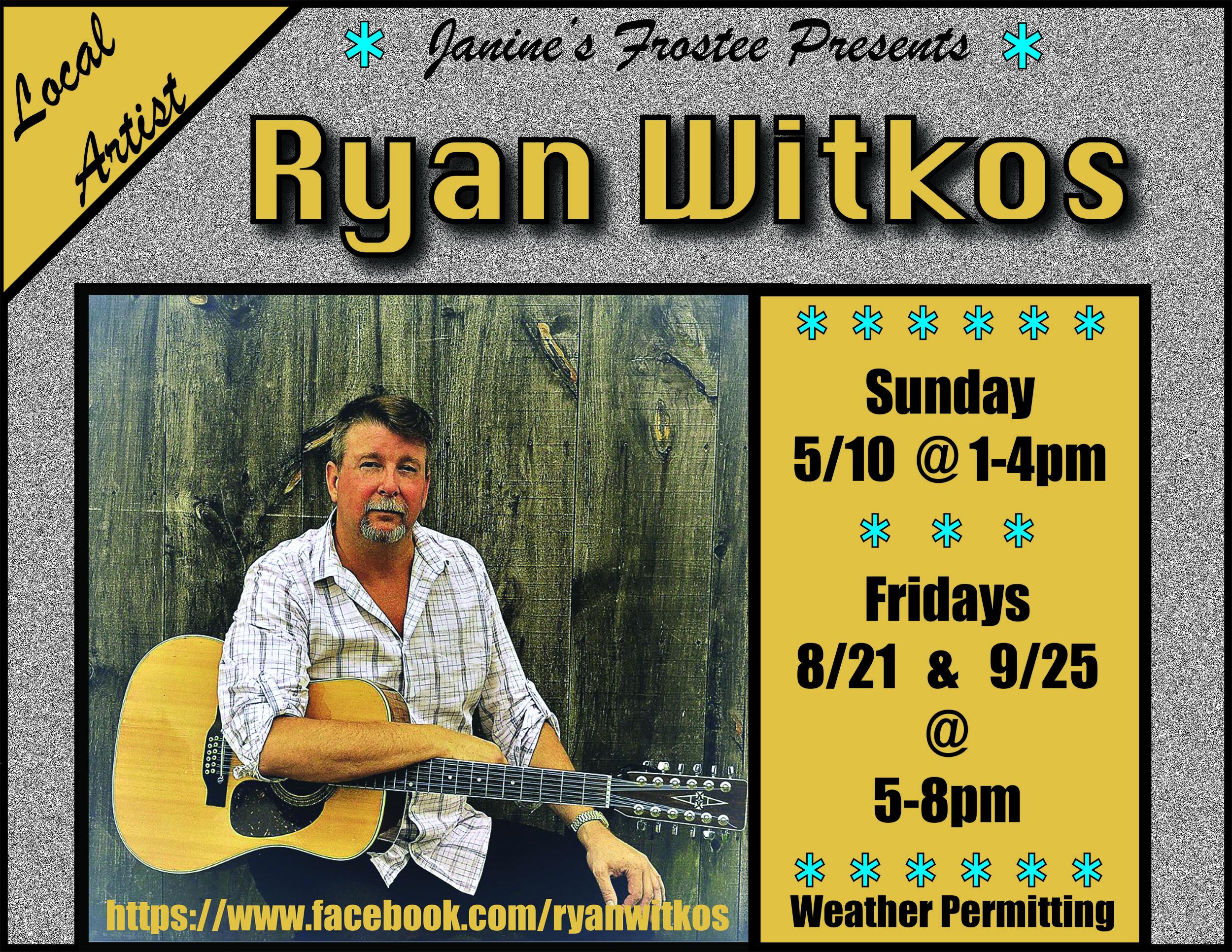 Ryan Witkos @ Janine's Frostee