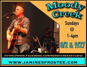 Moody Creek @ Janine's Frostee