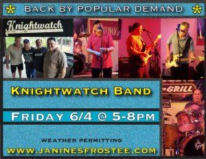 Knightwatch @ Janine's Frostee