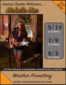 Michelle Mae @ Janine's Frostee