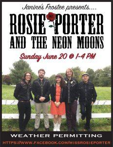 Rosie Porter & The Neon Moons @ Janine's Frostee
