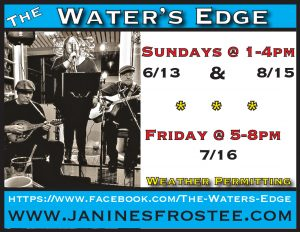 The Water's Edge @ Janine's Frostee